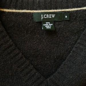 J.CREW Men's long sleeve V neck size M